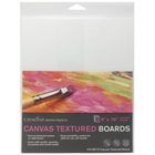 "Crescent Cardboard . CCB Crescent Canvas Board 3 Per Package 8"" x 10"" White Art Crafts Calgary"