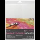 """Crescent Cardboard . CCB Crescent Canvas Board 3/Pkg 8""""X10"""" White"""
