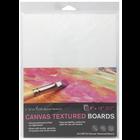 """Crescent Cardboard . CCB Crescent Canvas Board 3/Pkg 9""""X12"""" White"""
