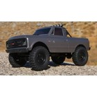 Axial . AXI SCX24 1967 Chevrolet C10 RTR DRK Silver