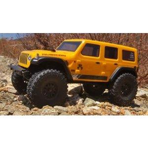 Axial . AXI 1/24 SCX24 2019 Jeep Wrangler JLU CRC Rock Crawler 4WD RTR, Yellow