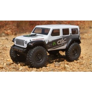 Axial . AXI 1/24 SCX24 2019 Jeep Wrangler JLU CRC Rock Crawler 4WD RTR, White