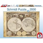 Schmidt Spiele . SSG Historical World Map 2000PC PUZZLE