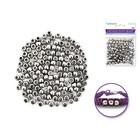 MultiCraft . MCI Pony Beads - Metallic Silver