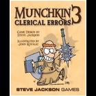 Steve Jackson Games . SJG Munchkin 3 Clerical Errors