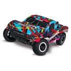 Traxxas Corp . TRA Traxxas Slash RTR 2WD Brushed with Battery & Charger HAWAIIAN