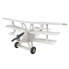 "Flitetest . FLT Flite Test Triplane DR1 ""Maker Foam"" Electric Airplane Kit (736mm)"