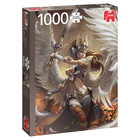 Jumbo Puzzles & Accs . JUM ANGEL WARRIOR 1000pc Puzzle
