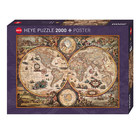 Heye Puzzles. HEY VINTAGE WORLD, ZIGIC - 2000pc Puzzle