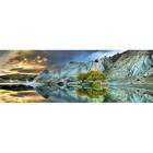 Heye Puzzles. HEY Blue Lake 1000pc Puzzle panoramic