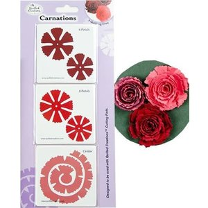 Quilled Creations . QUI Carnations Quilling Dies