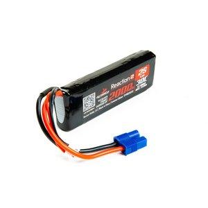 Dynamite . DYN 7.4V 2000mAh 2S 30C Reaction 2.0 LiPo Battery: EC3