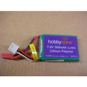 Hobbyzone . HBZ 7.4V 300mAh LiPo