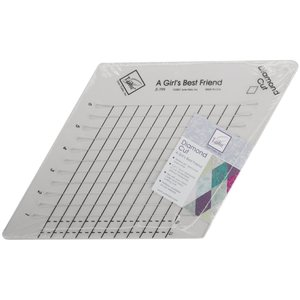"June Taylor . JTT June Tailor Diamond Cut Slotted Ruler 9""X9"""