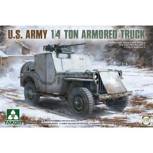 TAKOM . TAO 1/35 U.S. Army 1/4 ton Armoured Truck