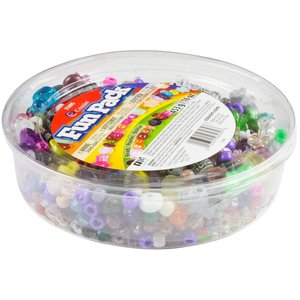 Cousins Corporation . CCA Fun Pack Beads 16oz Assorted Shapes & Sizes