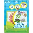 Perler (beads) PRL Perler Tray 'n Cards Pattern Kit Classic Beads