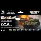Vallejo Paints . VLJ WWIII Soviet Armour & Infantry