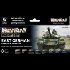 Vallejo Paints . VLJ WWIII East German Armour & Infantry