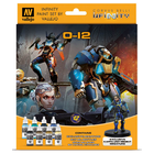 Vallejo Paints . VLJ Infinity O-12 Miniature Paint Set