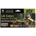 Vallejo Paints . VLJ IJA Colors Early/Late 1937-1945