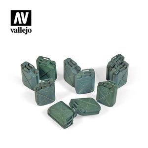 Vallejo Paints . VLJ Allied Jerrycan set