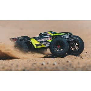Arrma . ARA Arrma Kraton 1/5 KRATON 4X4 8S BLX Brushless Speed Monster Truck RTR, Green