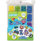Perler (beads) PRL 16 Colors Perler Bead Tray with Idea Book
