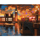 Craft Buddy . CBD London Sunset - Crystal Art Kit (Large LED)