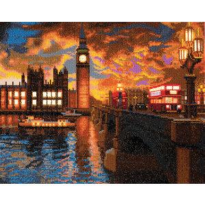 Crystal Art Kit . CAK London Sunset - Crystal Art Kit (Large LED)