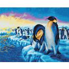 Craft Buddy . CBD Penguins of the Arctic - Crystal Art Kit (Large)