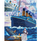 Crystal Art Kit . CAK Titanic: Sunken Dreams - Crystal Art Kit (Large)