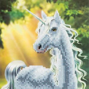 Crystal Art Kit . CAK Sunshine Unicorn - Crystal Art Kit (Medium)