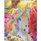Crystal Art Kit . CAK Unicorn Forest - Crystal Art Kit (Large)