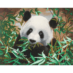 Craft Buddy . CBD Friendly Panda - Crystal Art Kit