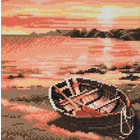 Craft Buddy . CBD River Boat - Crystal Art Kit (Medium)