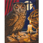 Crystal Art Kit . CAK The Astrologer Owl - Crystal Art Kit (Large)