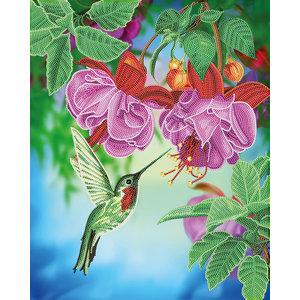 Craft Buddy . CBD Hummingbird - Crystal Art Kit (Large)