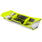 J Concepts . JCO Finnisher - 1/8th buggy / truck wing, w/gurney options (yellow)