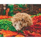 Crystal Art Kit . CAK Hedgehog - Crystal Art Kit (Large)