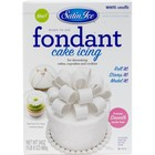 Satin Fine Foods . SFF Satin Ice Packaged Fondant 24 Oz White Vanilla
