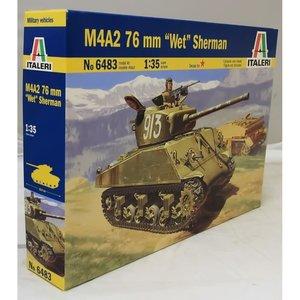 Italeri . ITA 1/35 M4A2 76MM WET SHERMAN TANK