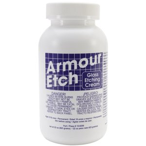 Armour Products (etch) . API Armour Etch - Glass Etching Cream 22oz