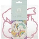 Sweet Sugarbelle . SWS Sweet Tooth Fairy Born To Sparkle Cookie Cutters 4pcs