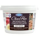 Satin Fine Foods . SFF Satin Ice ChocoPan Modeling Chocolate 1lb Pail Deep Bro