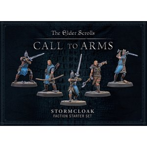 Modiphius Entertainment . MUH Elder Scrolls Call to Arms Plastic Stormcloak Faction