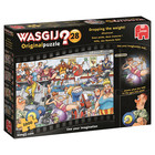 Jumbo Puzzles & Accs . JUM WASGIJ ORIGINAL #28, DROPPING THE WEIGHT 1000pc Puzzle