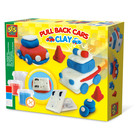 SES Creative . SES Clay - Pull Back Cars - Creativity Kit