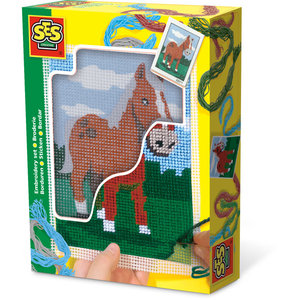 SES Creative . SES Embroidery Horse - Creativity Kit