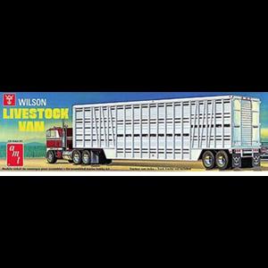 AMT\ERTL\Racing Champions.AMT 1/25 Wilson Livestock Van Trailer